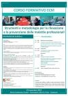"""Corso Formativo ECM per Infermieri """"Strumenti e metodologia per la rilevazione e la prevenzione delle malattie professionali"""""""